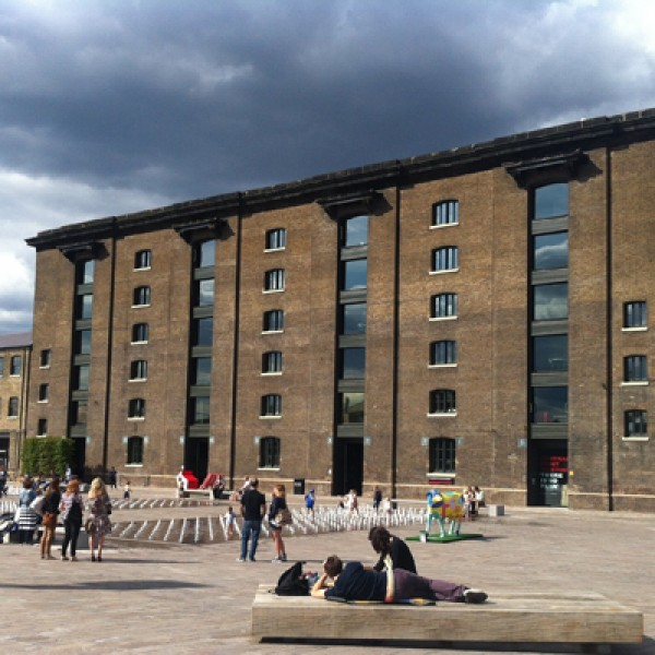 Thumbnail for King's Cross granary complex